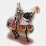 Armadura con Caballo Carlos V Decorada