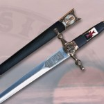 Daga Templarios Decorada